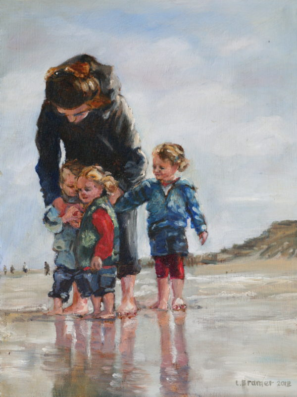 'Vlieland' Olieverf 18x24 cm