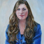 'Loes' 2012 olieverf 40x50 cm